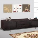 Modern Wood Wenge Television TV Stand Console Center