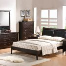 Modern Java Queen Bed Room Furniture Set Contemporary