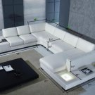 T35 Bonded Leather Living Room Sectional Sofa Couch New