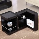 Modern End Table and Mini Bar