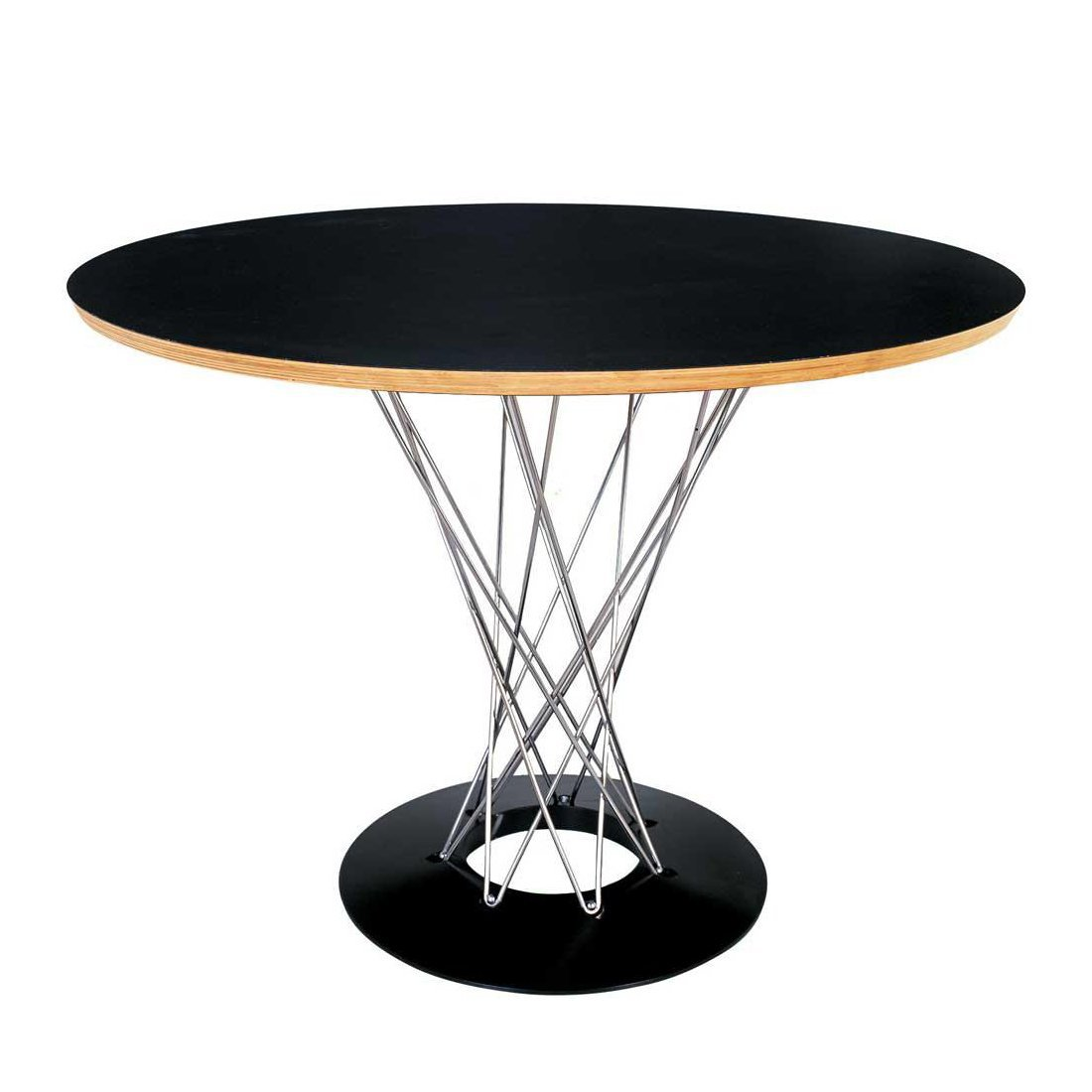 42 noguchi cyclone style round dining table mid modern