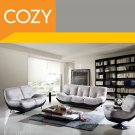 Modern Contemporary Living Room Sofa Set with Swivel chair