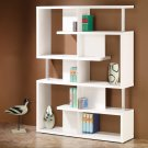MODERN CONTEMPORARY BLACK OR WHITE WOODEN BOOK CASE BY COZY™