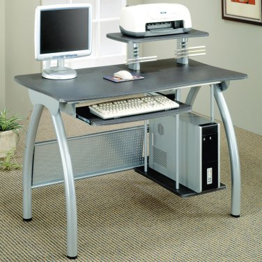 MODERN COMPUTER DESK WITH COMPUTER STORAGE AND KEYBOARD HOLDER BY COZY�