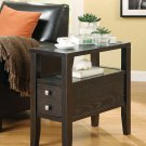 MODERN CASUAL ACCENT SIDE CHAIR TABLE BY COZY™
