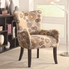 MODERN CONTEMPORARY ACCENT CHAIR WITH NAILHEAD TRIM BY COZY™