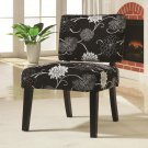 CONTEMPORARY ACCENT SEATING CHAIR WITH FLOWER DESIGN BY COZY™