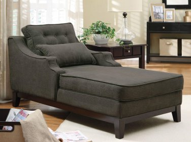 ACCENT UPHOLSTERED SEATING CHAISE BY COZY�
