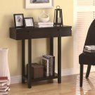ACCENT MODERN ENTRY TABLE WITH LOWER SHELF BY COZY™