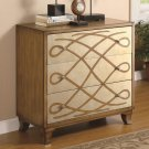 ACCENT SCROLL FRONT ACCENT CABINET BY COZY™