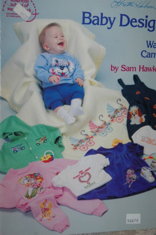 Baby Designs for Waste Canvas by Sam Hawkins
