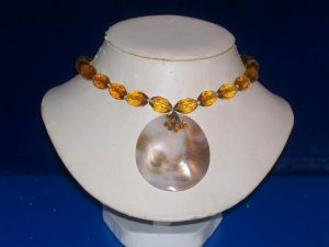 Faceted Topaz Choker  -  TBM-SCC-004