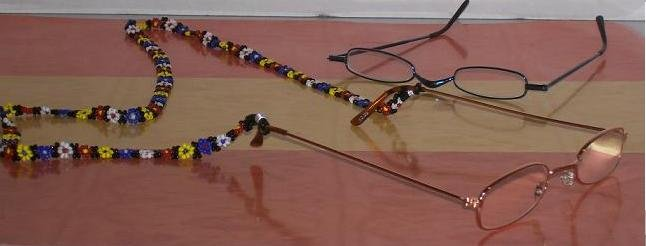 BEADED EYEGLASS HOLDER - TBM-EGH-003
