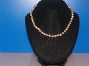Hand Strung White Pearl Beads Choker - TBM-PBC-001