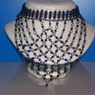 Choker Cobalt Blue Diamond Crystals - TBM-SCC-010