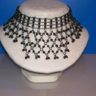 Choker Jet Hematite Crystal Beads - TBM-SCC-011