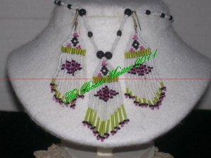 Western Design Necklace & Earring Set - TBM-BNS-002
