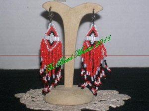 """Western Design Earrings  3"""" Long - TBM-BE-002"""