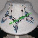 Western Design Necklace & Earring Set - TBM-BNS-003