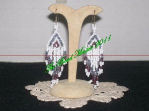"Western Design Earrings  3.25"" Long -  TBM-BE-005"