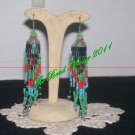 "Western Design Earrings  3.5"" Long  -  TBM-BE-006"