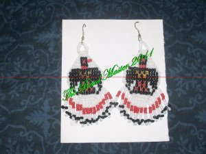 """Western Design Earrings 3"""" Long - TBM-BE-011"""