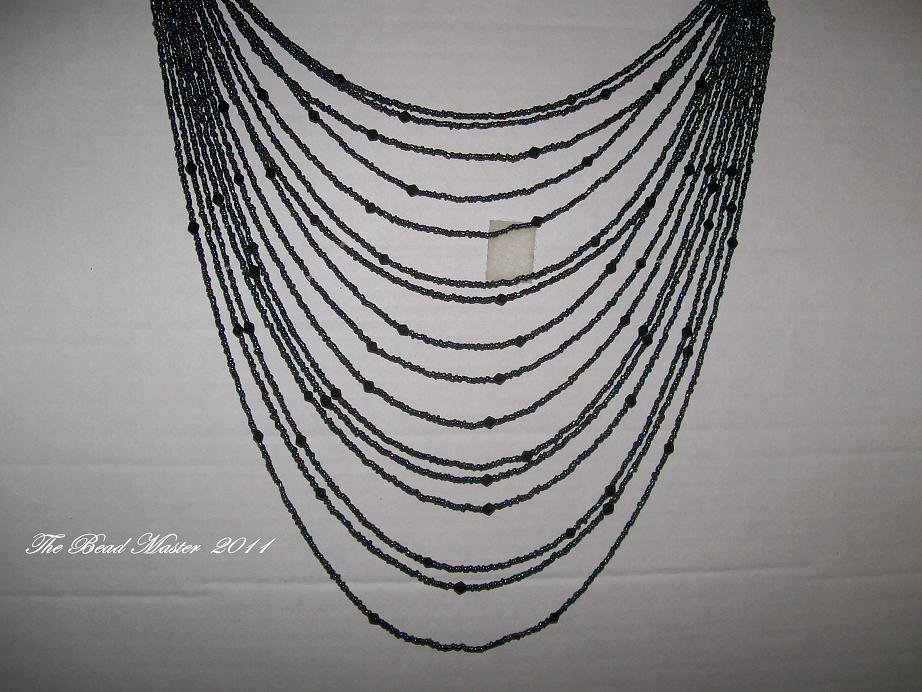 16-Strand Over The Head Necklace - TBM-OTH-001