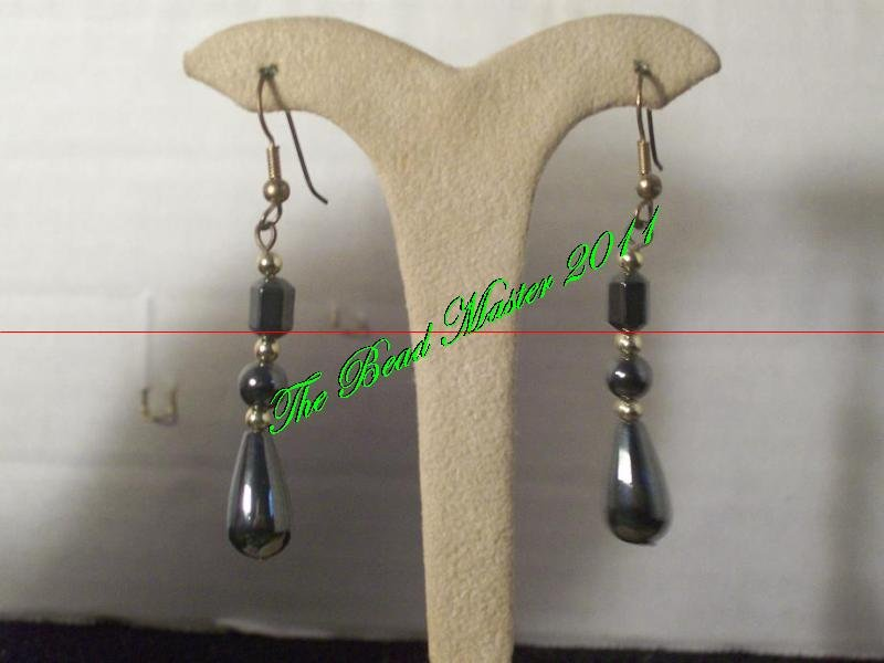 Hematite Earrings - TBM-HE-005