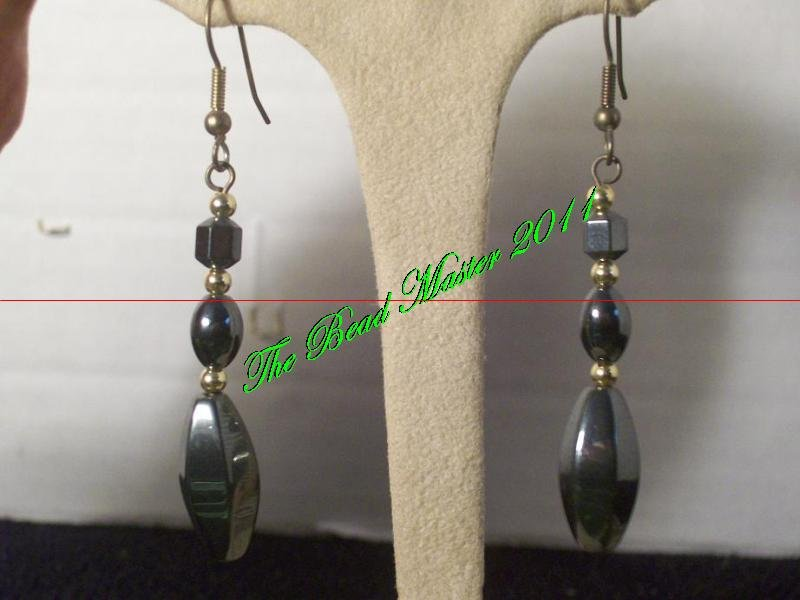 Hematite Earrings - TBM-HE-007