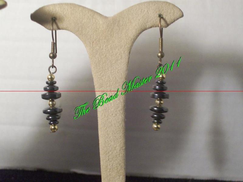 Hematite Earrings - TBM-HE-008