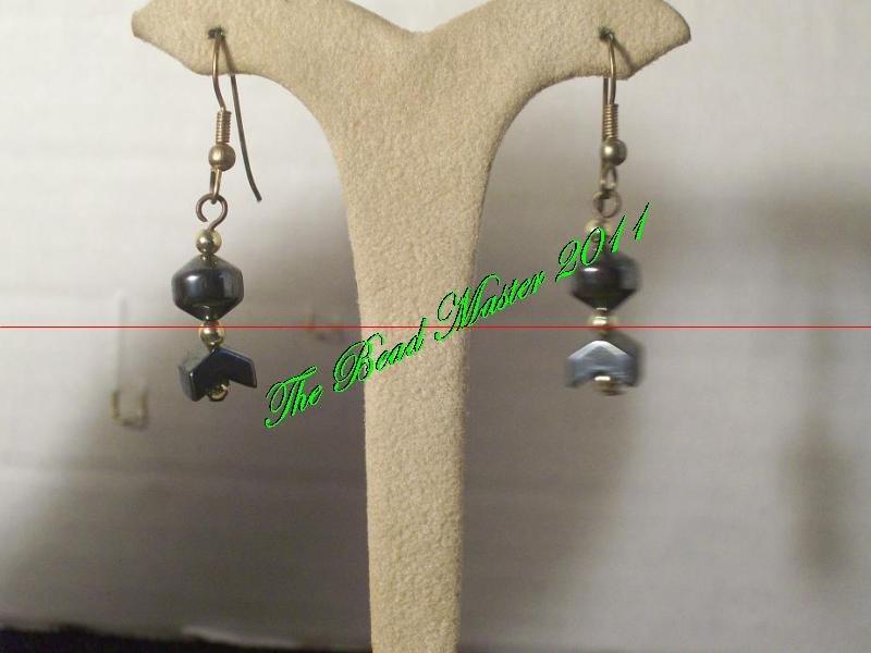 Hematite Earrings - TBM-HE-009