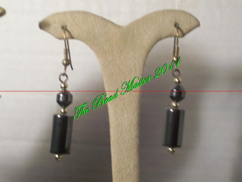 Hematite Earrings - TBM-HE-013