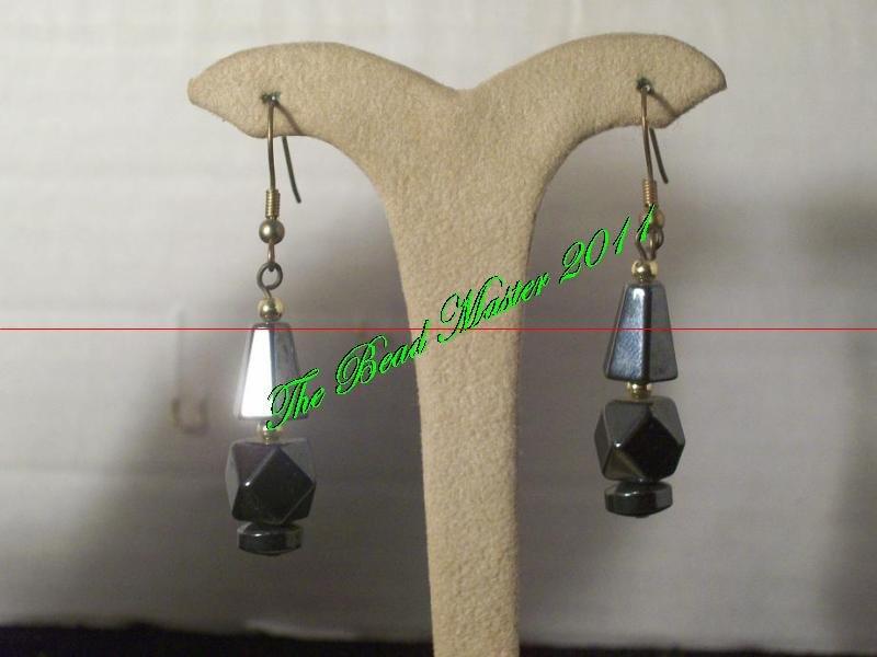 Hematite Earrings - TBM-HE-015