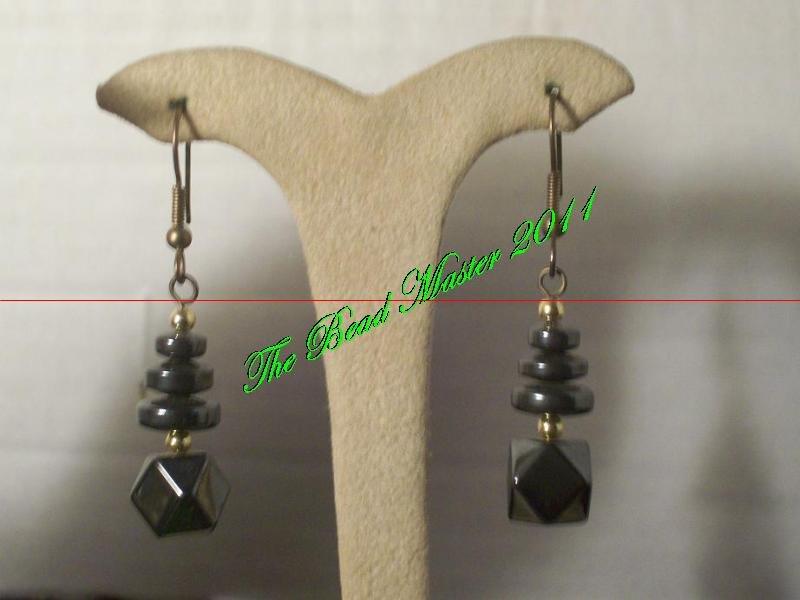 Hematite Earrings - TBM-HE-017