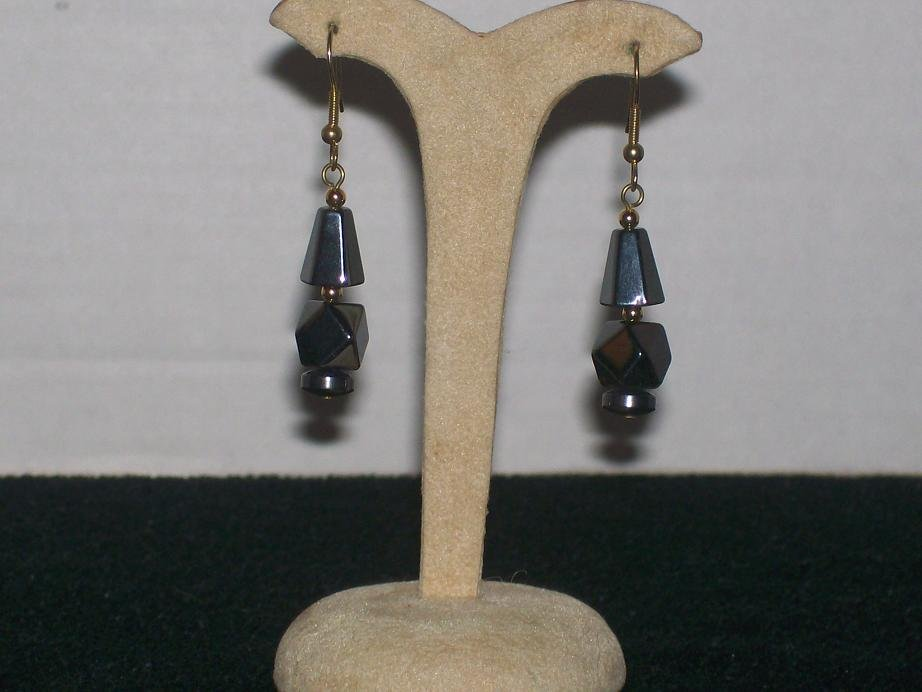 Hematite Earrings - TBM-HE-018