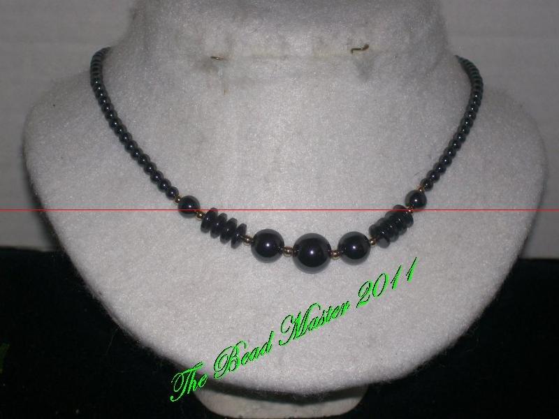 Hematite Necklace - TBM-HN-008