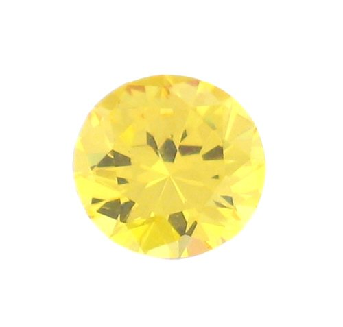 4 Carat 9MM CITRINE Round Shaped Hand Cut Gemstone