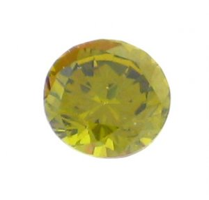 1.3 Carat 3.25MM Peridot ROUND Shaped Hand Cut Gemstone