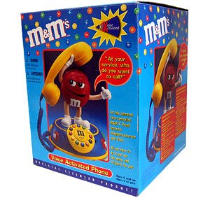 M&M VOICE ACTIVATED PHONE