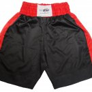 Pro Impact New SATIN BOXING SHORTS L Black/Red $25 Value