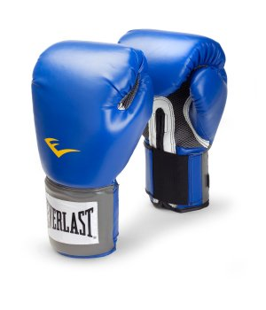 EVERLAST Pro Style Training Gloves BLUE 16 Oz. Boxing MMA - NEW