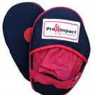 Pro Impact Canvas Punch Mitts : Black/ Red $30 Value