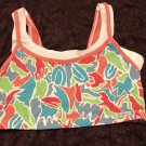 Bestform Peach With Print Sports Bra, Size 36, New