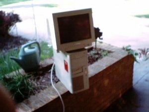 Laser Acer 386sx/sl Desk Top Computer