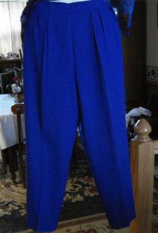 Nice Pair Of  Womens Pants Blue.