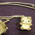 Great Gift for Someone - Hello Kitty Necklace Watch
