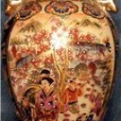 Oriental Style Vase with Handles - Unusual Cloisonne