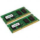 Crucial CT2KIT25664BC1067 4GB 204-PIN PC3-8500 SODIMM DDR3 Memory KIT (2GBx2) - 50% OFF