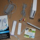 Wii Sports bundle gaming system with Sports kit with many extras