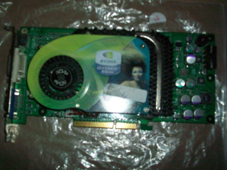 eVGA e-GeForce 6800, 128MB DDR, DVI/TV-Out, AGP 8x